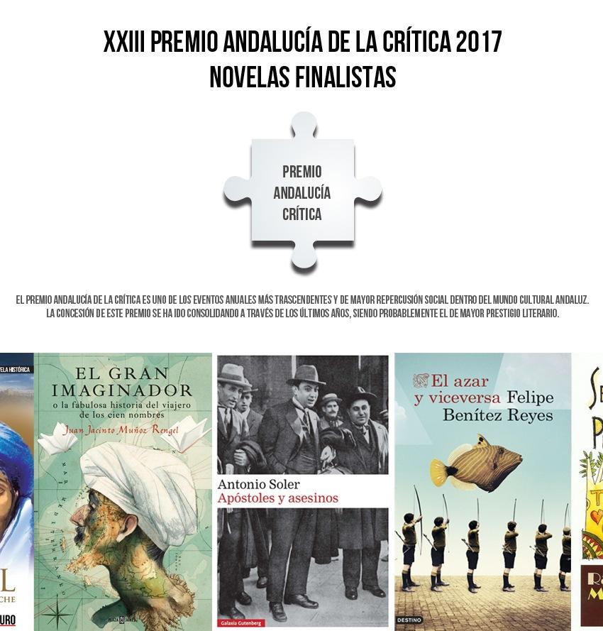 Finalistas - Premio Andalucía de la Crítica